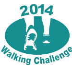 walking challenge 2014 logo