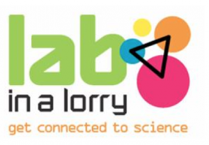 lab in a lorry logo