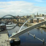 view of Newcastle and bridges from Gateshead © Copyright rob bishop and licensed for reuse under http://creativecommons.org/licenses/by-sa/2.0/