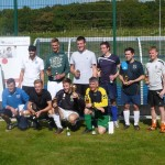UK Veterans team win the 7-a-side football tournament