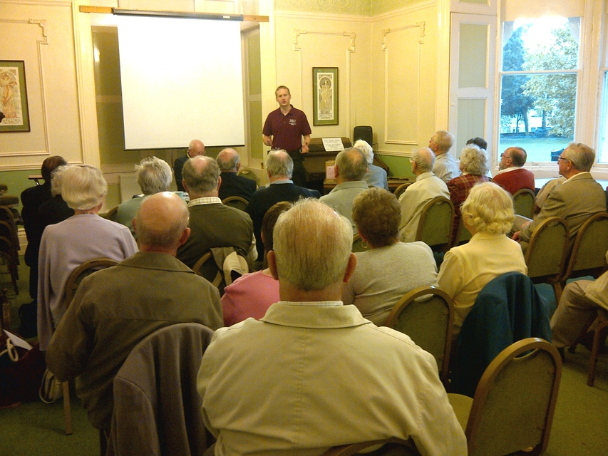 141126 Senior Citizen Liason Team presentation
