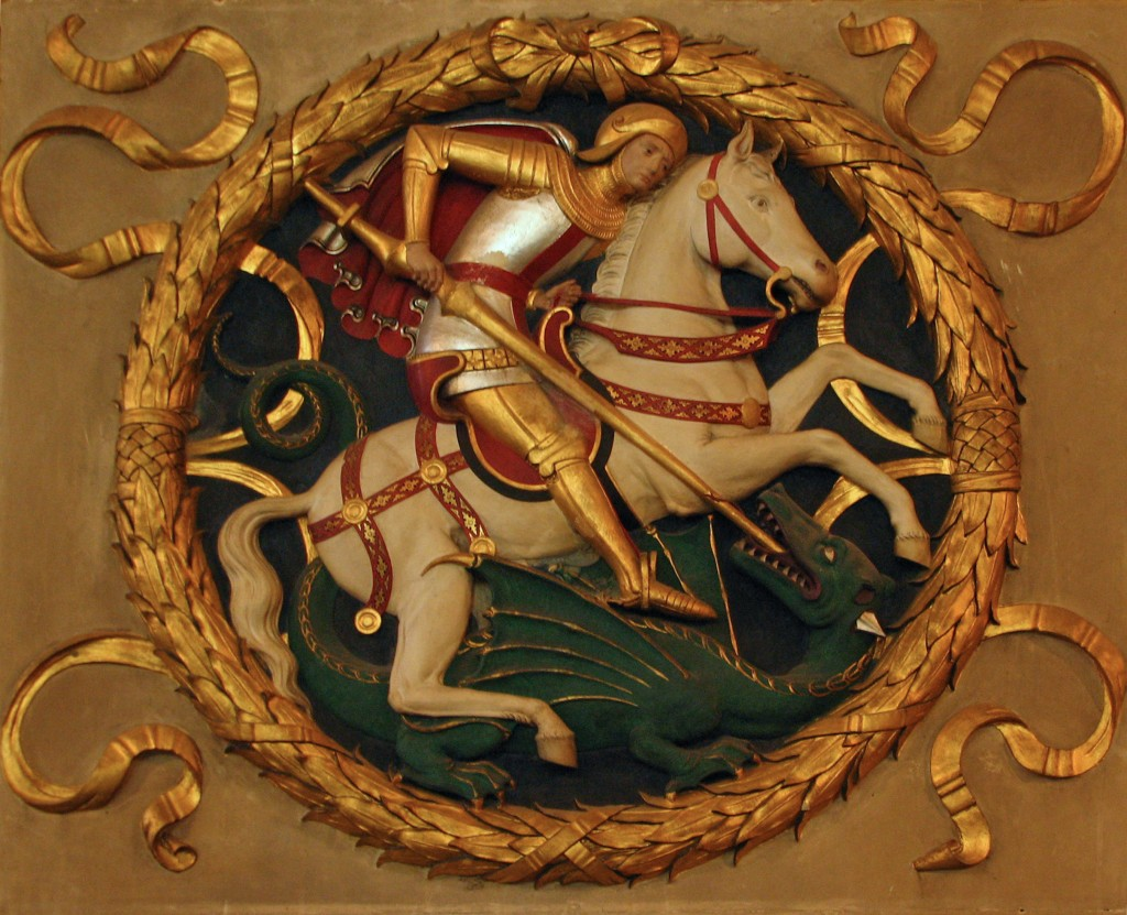 image of St George and the Dragon