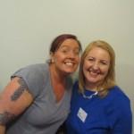 Amanda and Lorna