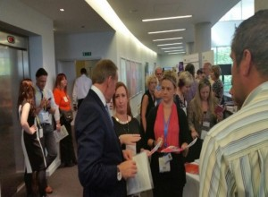 Discussing our ideas with John Manzoni