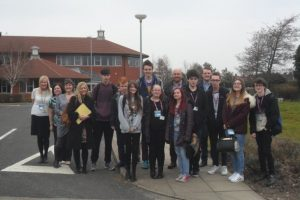 Students from Blackpool Sixth Form College