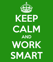 190812 keep calm, work smart