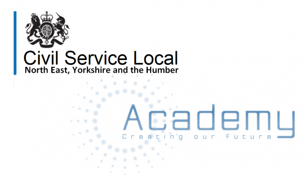 Banner saying CS Local NEYH and Academy: Creating our future