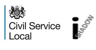 iShadow logo and Civil Service Local written with Civil Service crest