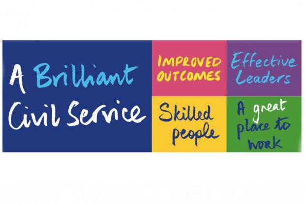 A Brilliant Civil Service Logo
