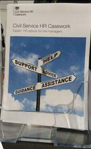 Civil Service Casework HR leaflet