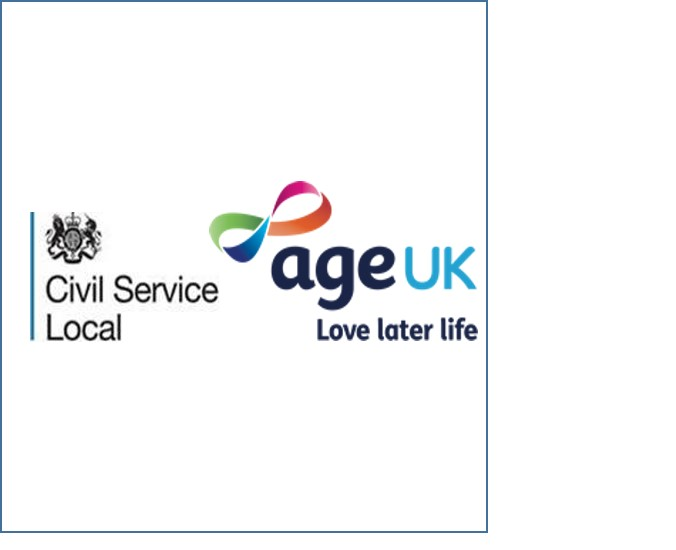 Logos of CS Local and AgeUK