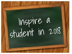 Blackboard says inspire a student
