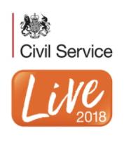 Civil Service Live 2018 logo