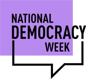 National Democracy Week logo