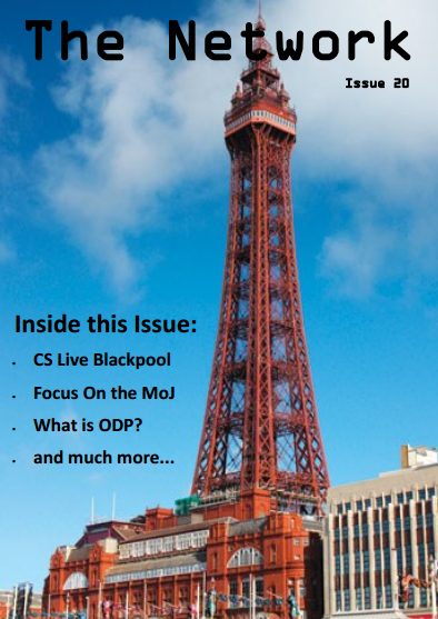 Cover of the Network showing Blackpool Tower