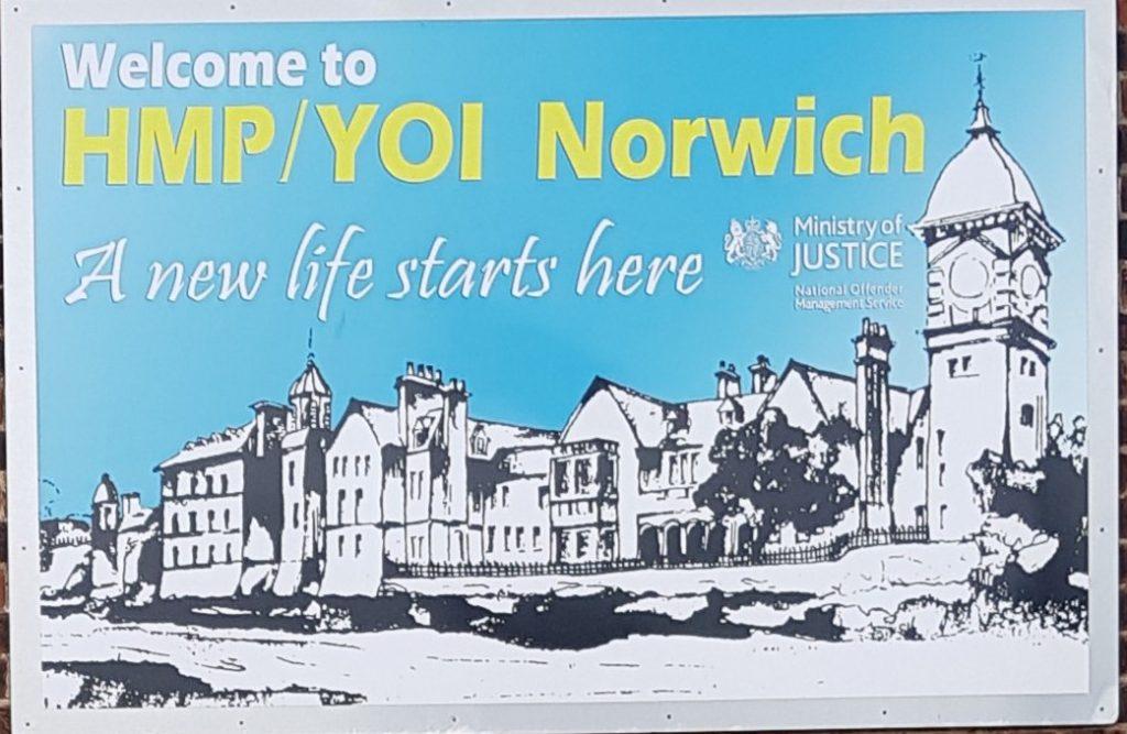 HMP YOI Norwich logo