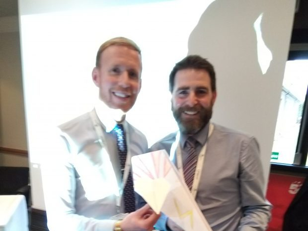 Scotland Academy Master of ceremonies Darren and Sean