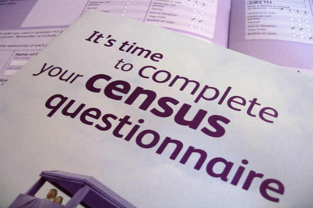 complete your census 2021 form