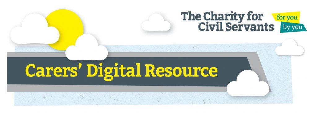 Charity for civil servants digital resource banner