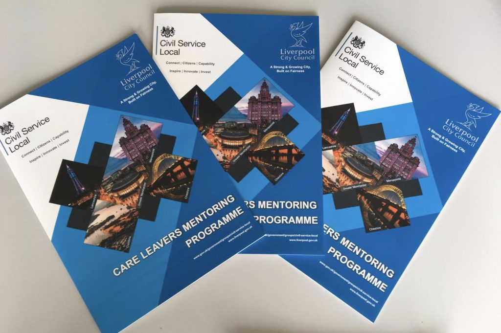 3 copies of the Care Leavers Mentoring Programme