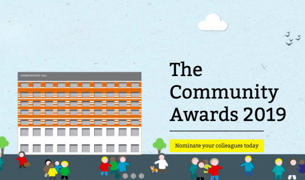 Community Awards poster