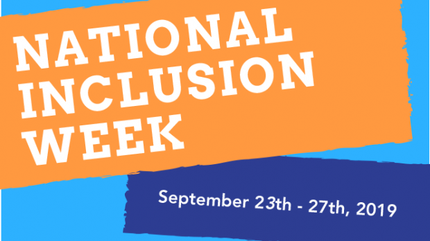 poster promoting national inclusion week