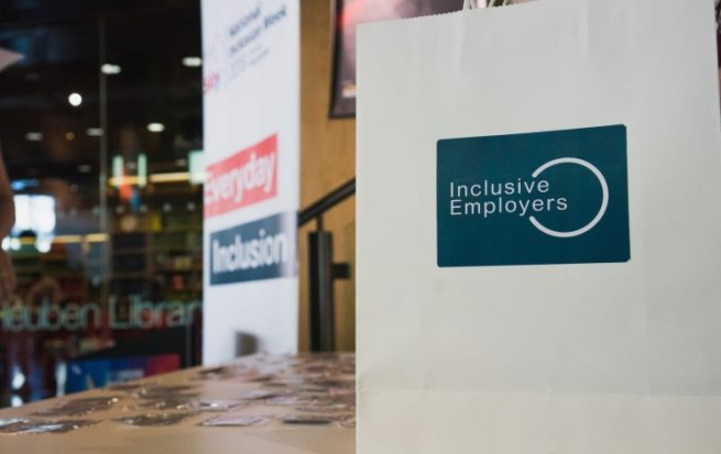 Billboard Promoting Inclusive employers