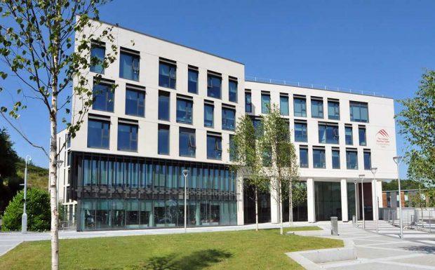 Front of Merthyr Tydfil College building