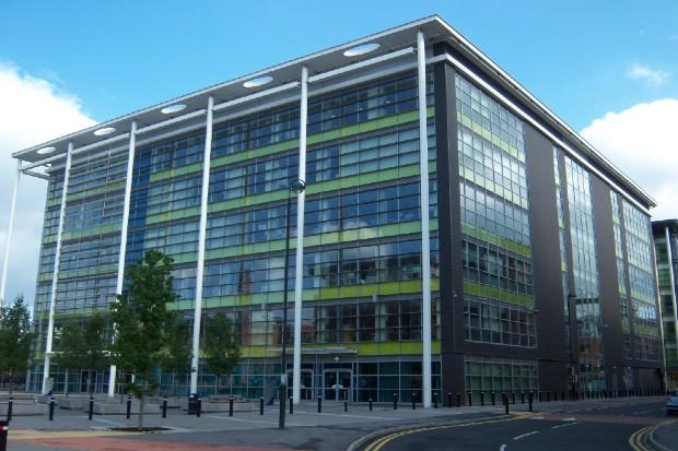 6 storey building in Sheffield