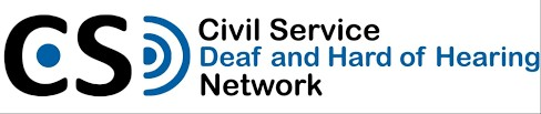 promote Civil Service Deaf and Hard of Hearing Network logo