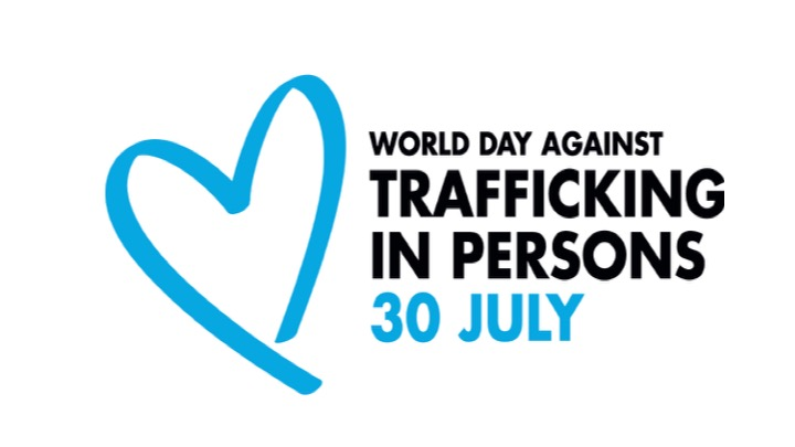 World Day Against Trafficking in Persons 30 July Logo