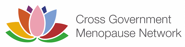 Cross government menopause network logo