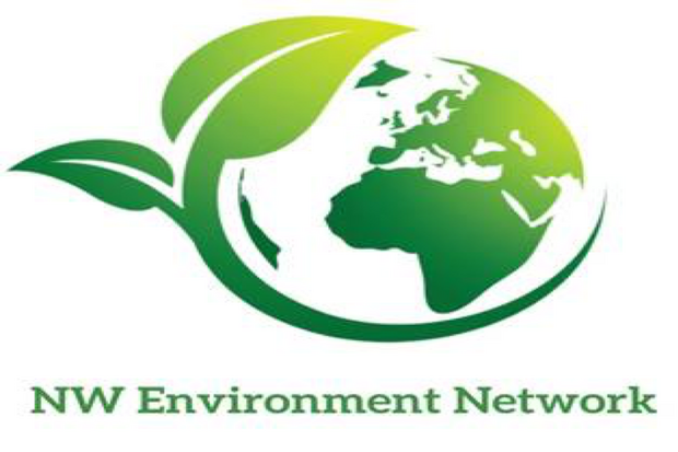 Green planet logo - NW Environment Network