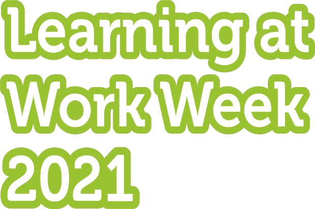 Learning at Work Week 2021 in green