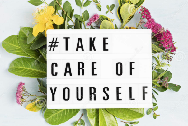 sign saying take care of yourself